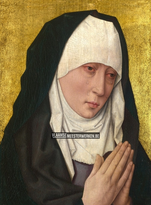 Mater Dolorosa - rouwende maagd | Dieric (Dirk) Bouts